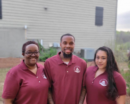 Shaquille Hodge, Danielle Hodge and Maritza Gonzales